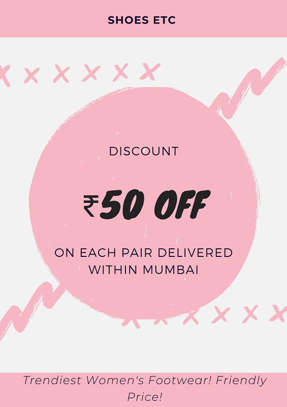 Shoes Etc ₹50 Off Discount